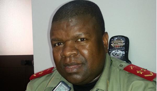 """The commander of Luanda's Military Region, General Simão Carlitos """"Wala""""."""