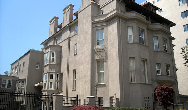 Edifício da embaixada de Angola nos EUA (Wikimedia).