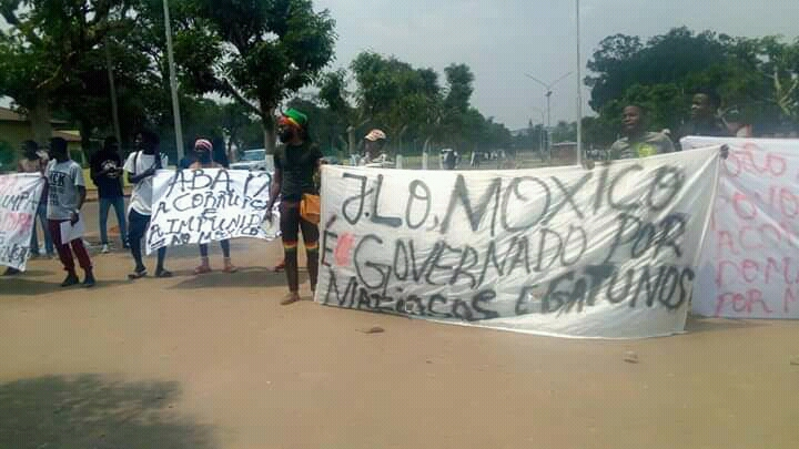 Polícia Nacional Detém Manifestantes no Moxico